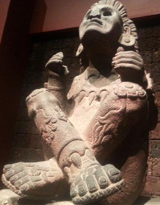 An Aztec figurine
