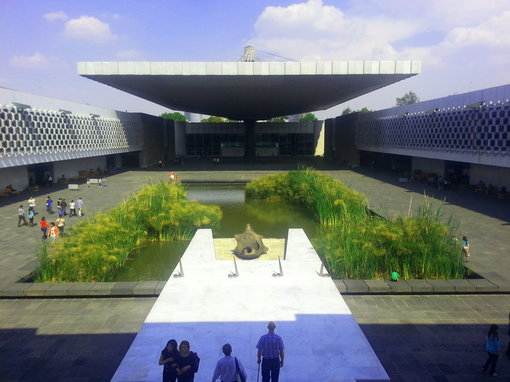 Inside the National Museum of Anthropology