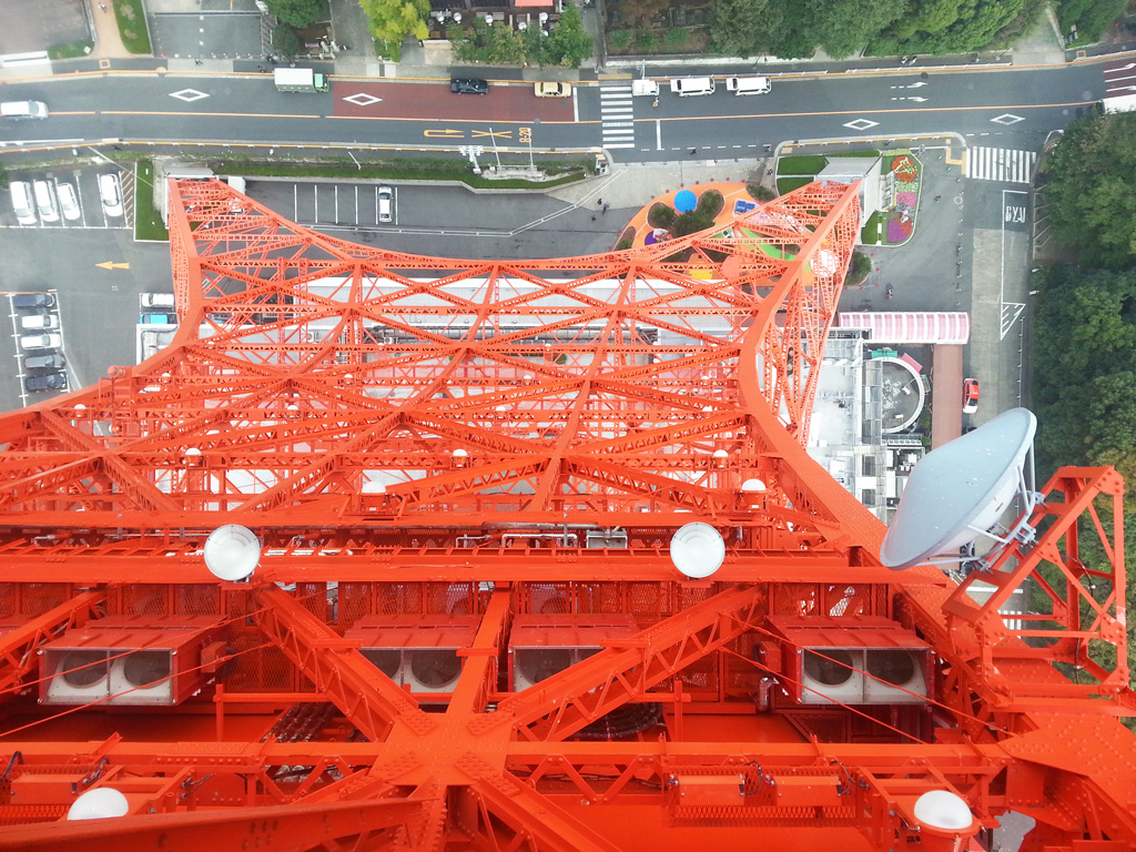 Tokyo Tower From Above