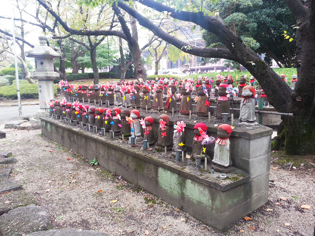 Dolls at Zojoji Temple